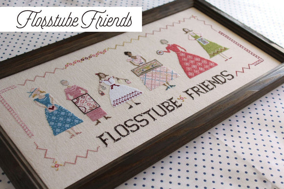 Pre-Order: Flosstube Friends | October House Fiber Arts - Needlework Expo