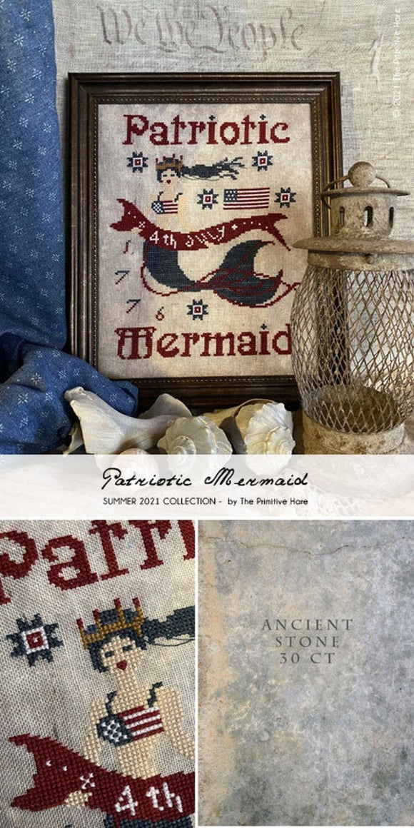 Pre-Order: Patriotic Mermaid | The Primitive Hare Summer 2021 Collection