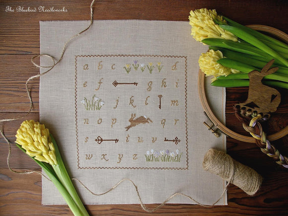 Spring Alphabet | The Bluebird Needleworks