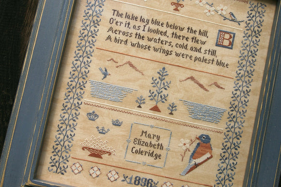 Bluebird Sampler | The Bluebird Needleworks