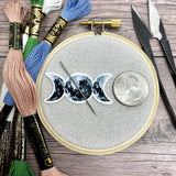 Watercolor Moon Phases Needle Minder