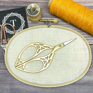 Leaf Embroidery Scissors