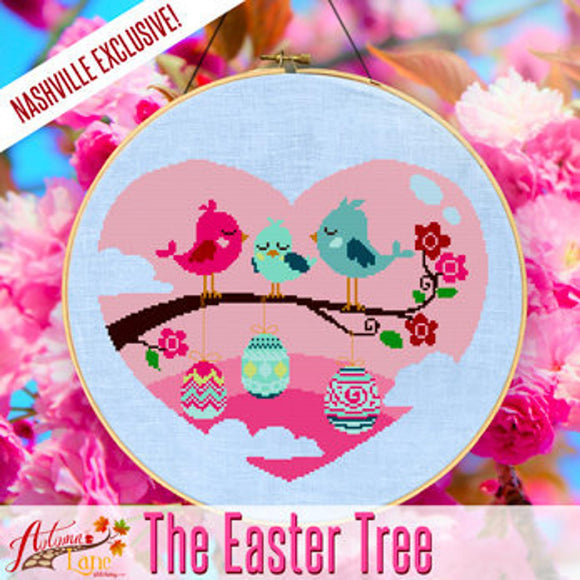 The Easter Tree | Autumn Lane Stitchery Nashville 2020 Exclusive