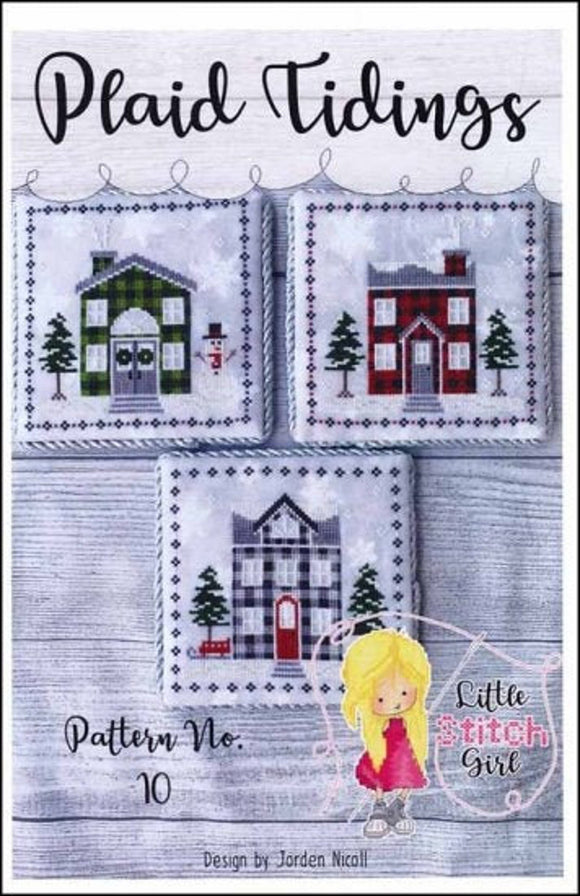 Plaid Tidings Trio | Little Stitch Girl