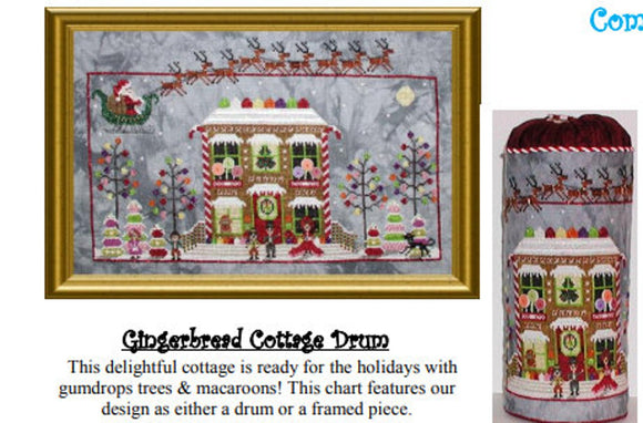 Gingerbread Cottage | Praiseworthy Stitches Nashville 2020 Release