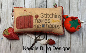 Stitching Makes Me Happy | Needle Bling Designs Nashville 2020 Release