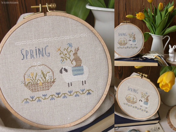 Spring Basket | The Bluebird Needleworks
