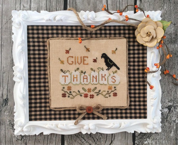Thankful Pumpkins | Annie Beez Folk Art