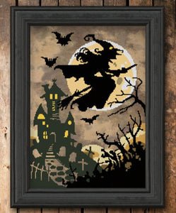 Hallow's Eve Haunting | Autumn Lane Stitchery Nashville 2020 Release