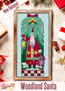 Woodland Santa | Autumn Lane Stitchery Nashville 2020 Release