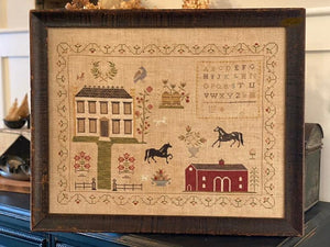 NEW! The Stables at Hollyberry Farm Sampler | Stacy Nash Primitives Nashville Release