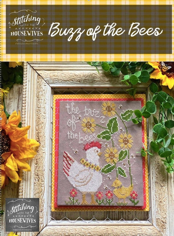 Buzz of the Bees | Stitching with the Housewives