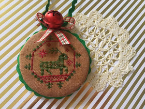 Quirky Quakers #5 Reindeer | Darling & Whimsy Designs