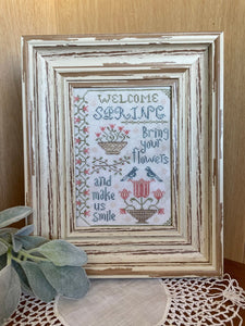 Pre-Order: Welcome Spring | From the Heart - Needlework Expo