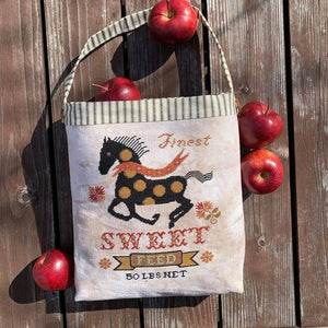 Pre-Order: Horse Feed Sack | Carriage House Samplings - Needlework Expo