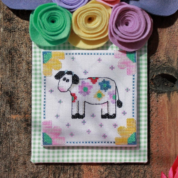 Pre-Order: Flora Bloom - The Moo the Merrier | Luhu Stitches - Needlework Expo