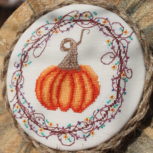 Pre-Order: Pumpkin, Pumpkin | Luhu Stitches - Needlework Expo