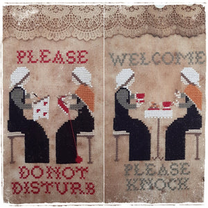 Welcome / Do Not Disturb | Fairy Wool in the Wood - Needlework Expo