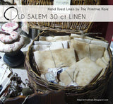 Old Salem 30ct Linen | The Primitive Hare
