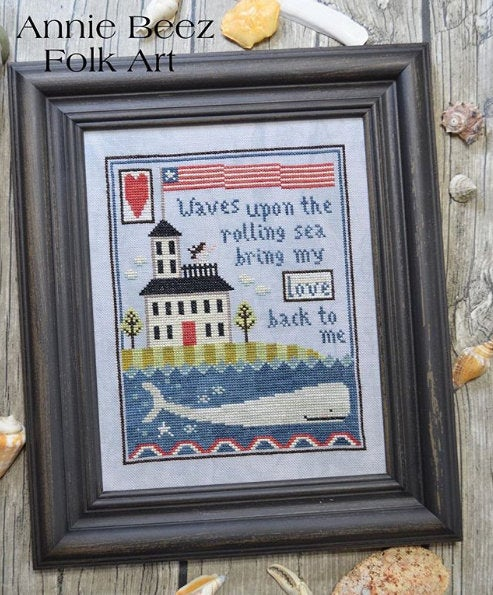 Widow's Walk | Annie Beez Folk Art