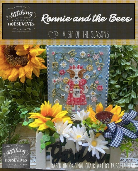 Ronnie and the Bees | Stitching with the Housewives