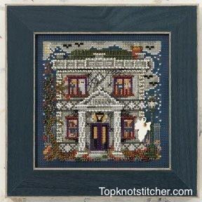 Mill Hill Haunted Library | Buttons and Bead Cross Stitch Kit