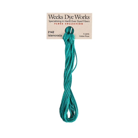Islamorada | Weeks Dye Works - Hand-Dyed Embroidery Floss