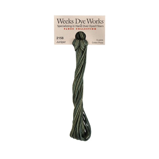 Juniper | Weeks Dye Works - Hand-Dyed Embroidery Floss