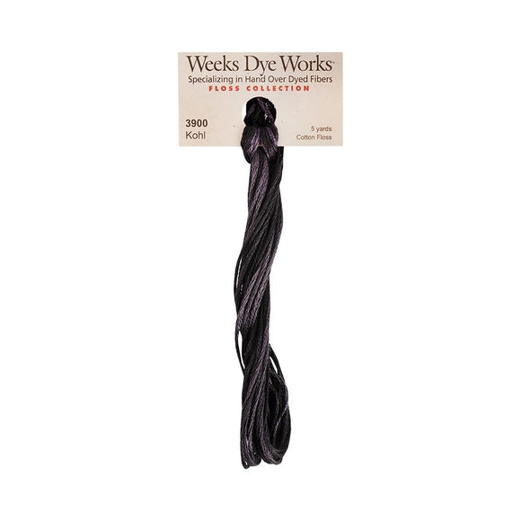 Kohl | Weeks Dye Works - Hand-Dyed Embroidery Floss