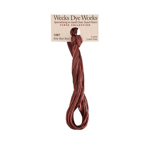 Kris' Bon Bon | Weeks Dye Works - Hand-Dyed Embroidery Floss