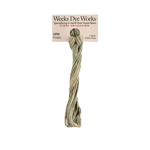 Kudzu | Weeks Dye Works - Hand-Dyed Embroidery Floss