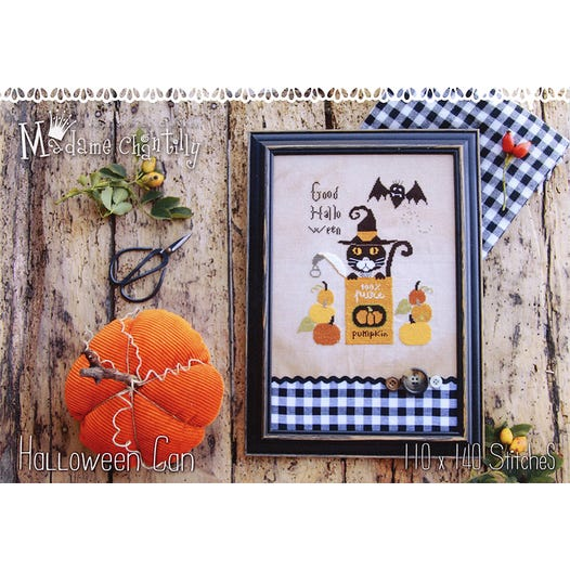 Halloween Can | Madame Chantilly