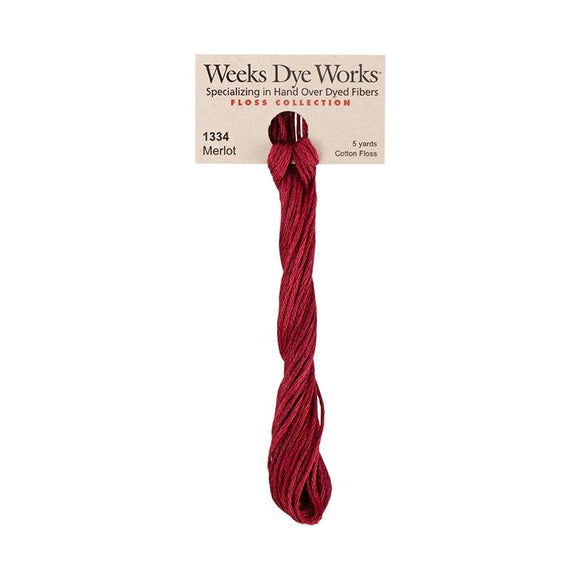 Merlot | Weeks Dye Works - Hand-Dyed Embroidery Floss