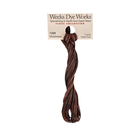 Molasses | Weeks Dye Works - Hand-Dyed Embroidery Floss