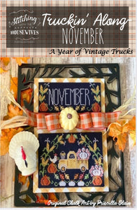 Truckin' Along November - Turkey Truck | Stitching with the Housewives