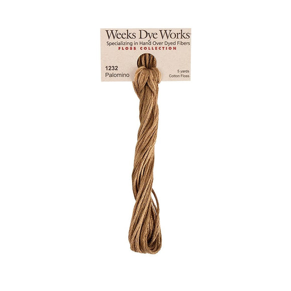Palomino | Weeks Dye Works - Hand-Dyed Embroidery Floss