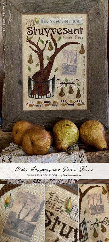 Pre-Order: Olde Stuyvesant Pear Tree | The Primitive Hare Summer 2021 Collection