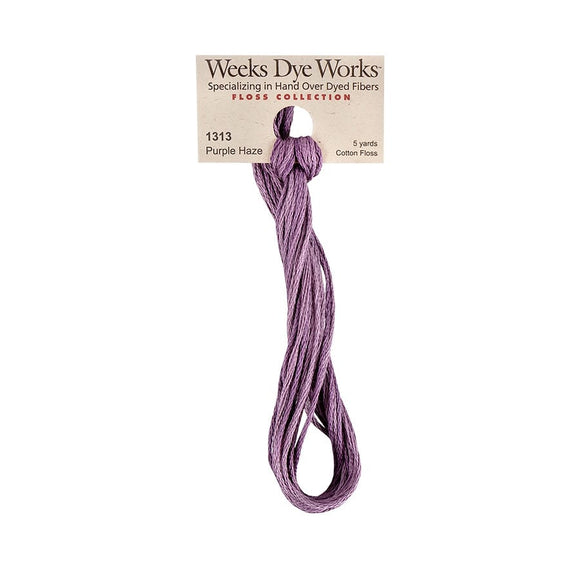 Purple Haze | Weeks Dye Works - Hand-Dyed Embroidery Floss