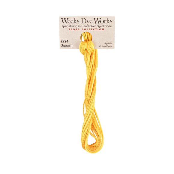 Squash | Weeks Dye Works - Hand-Dyed Embroidery Floss