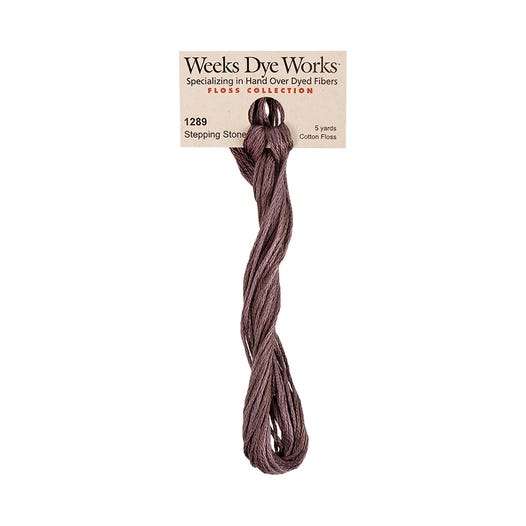 Stepping Stone | Weeks Dye Works - Hand-Dyed Embroidery Floss