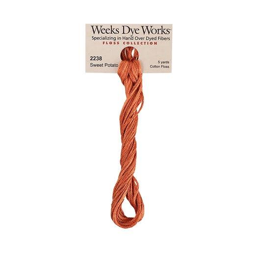 Sweet Potato | Weeks Dye Works - Hand-Dyed Embroidery Floss