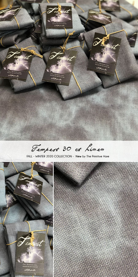 New! Tempest 30ct Linen | The Primitive Hare
