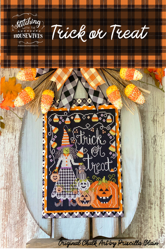 New! Trick or Treat | Stitching with the Housewives