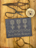 Run with Scissors Sewing Pouch | Stacy Nash - Needlework Expo