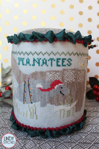 Merry Manatees | Lindy Stitches