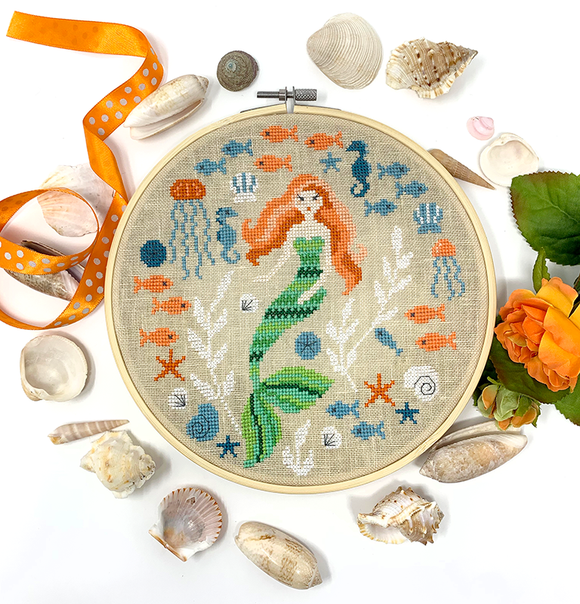 Mermaid Garden | Tiny Modernist - Needlework Expo Exclusive!