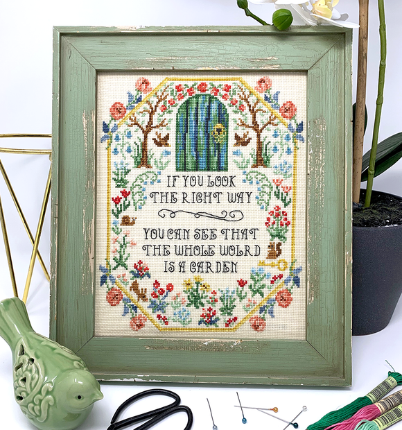Secret Garden - Advance Release | Tiny Modernist - Needlework Expo
