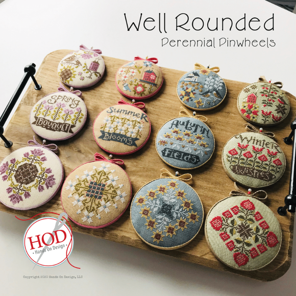 Well Rounded Perennial Pinwheels | Hands on Design Nashville 2020 Release
