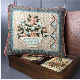 January Basket | Bendy Stitchy - Needlework Expo