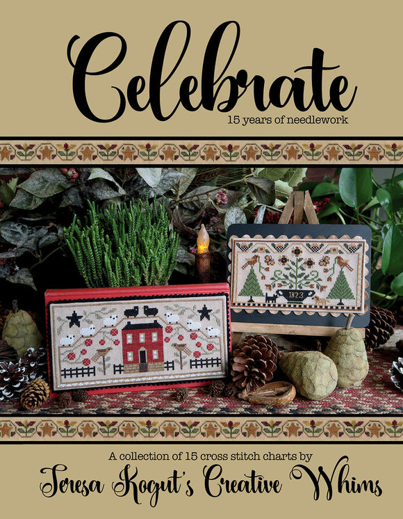 Celebrate | Teresa Kogut Nashville 2020 Release (featuring 15 new cross-stitch designs!)